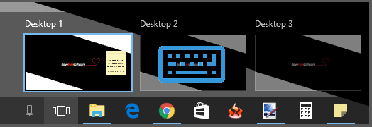 Windows 10 virtual desktop enhancer software