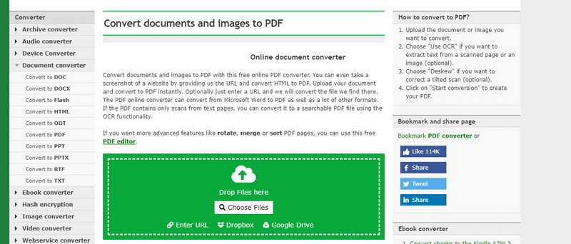 online convert word to pdf