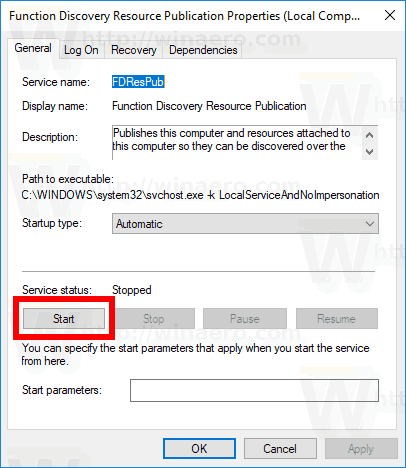 Fix Network Computers Are Not Visible In Windows 10 Version 1803