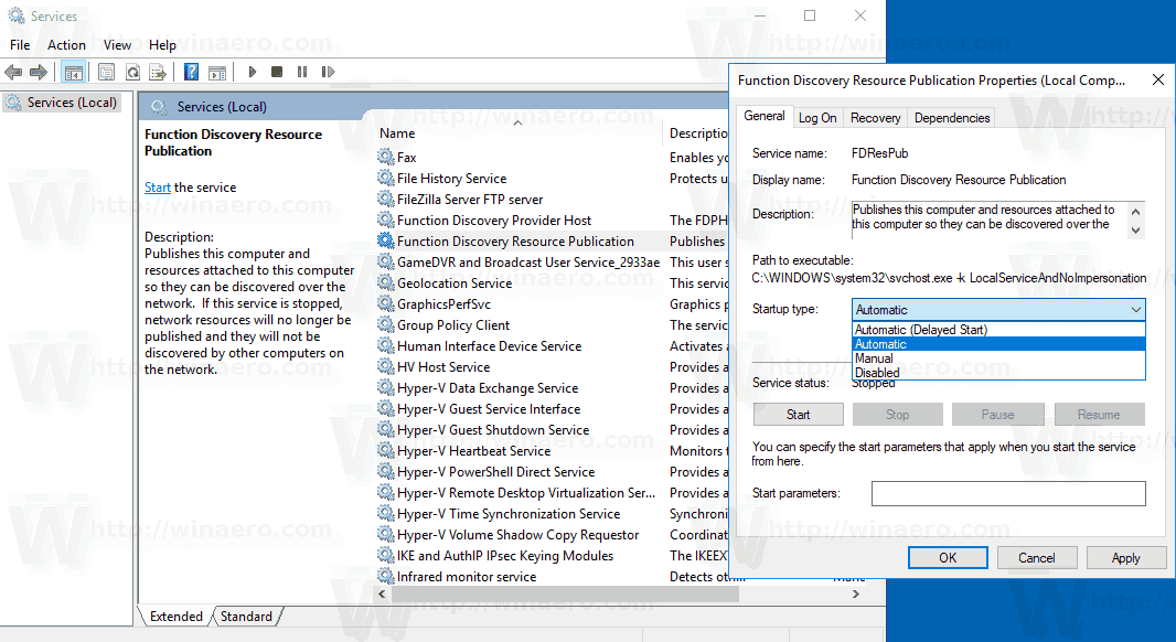 Network Computers Are Not Visible In Windows 10 Version 1803